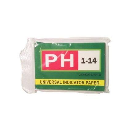 pH-stickor i förpackning