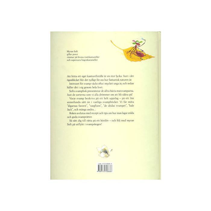 Sofis svampbok,baksida