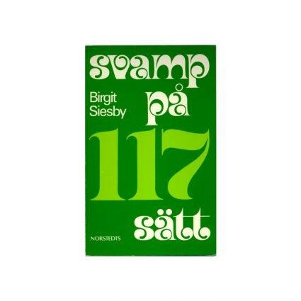 Svampkokboken. Svamp på 117 sätt, pärmens första sida