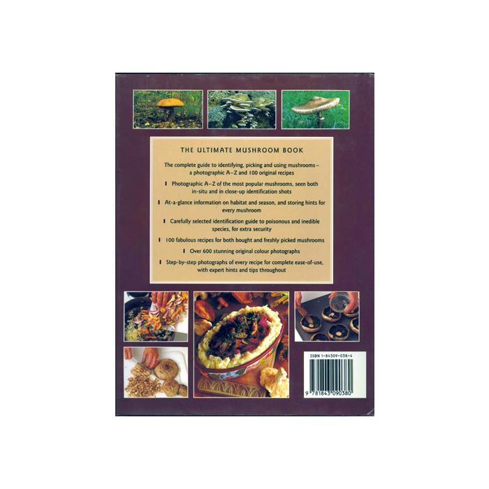 The Ultimate Mushroom Book, baksida