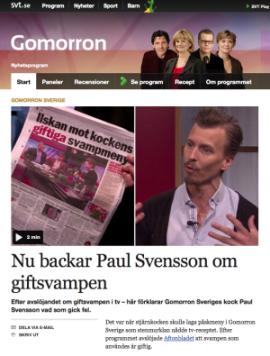 Paul Svensson på SVT