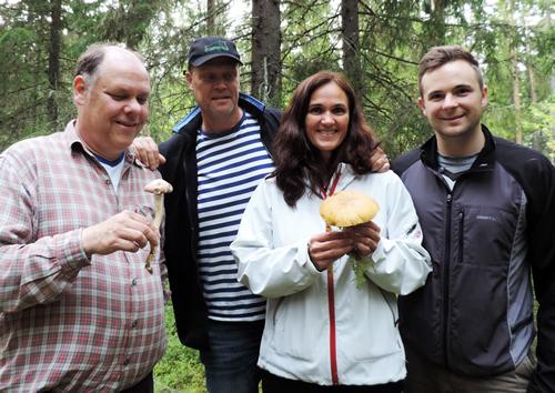 Anders, Kalle, Annelie och Henrik