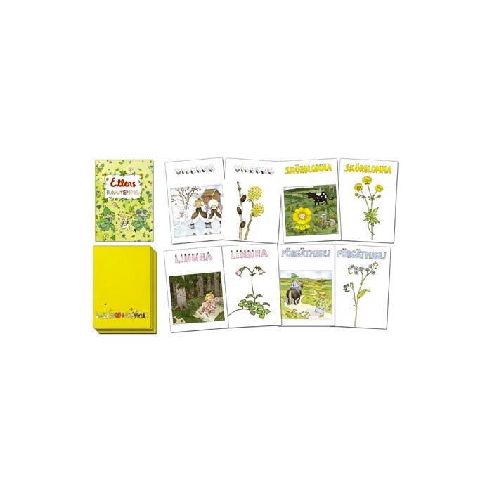 Ellens blomsterspel, kortspel