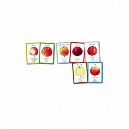 Äppelspelet, kortspel