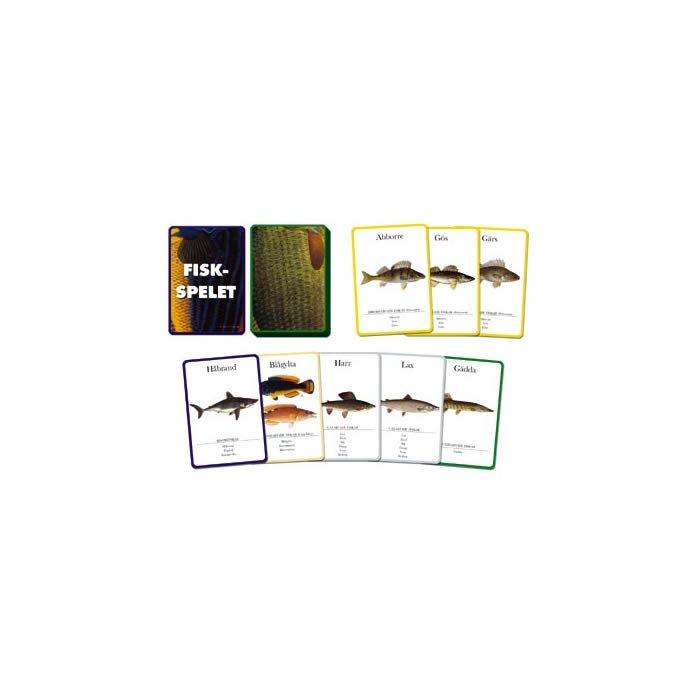 Fiskspelet, kortspel