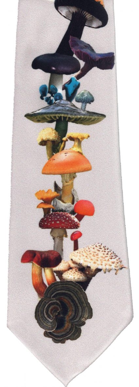 Slips, färgglada svampar, detalj