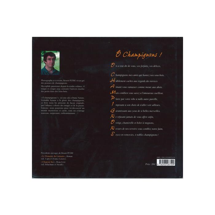Ô Champignons! Balades & Ballades, omslagets sista