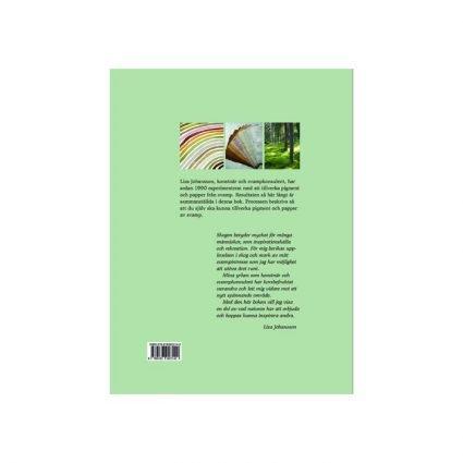 Pigment & papper av svamp, omslagets sista sida