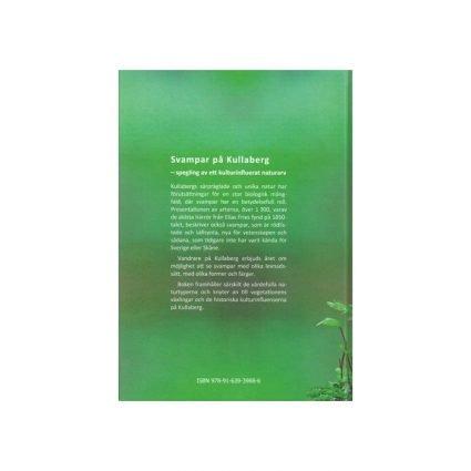 Svampar på Kullaberg, omslagets sista sida