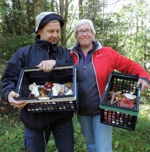 Jonny Sågänger och Kristina Båth Sågänger