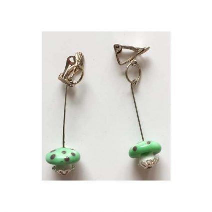 Clips, gröna och lila