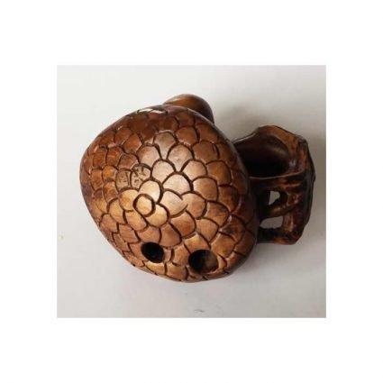 Netsuke, en svamphatt