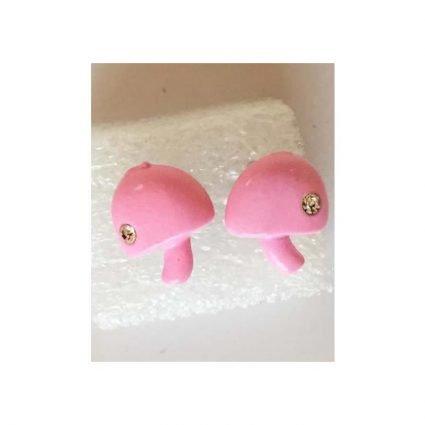 Örhängen, små rosa