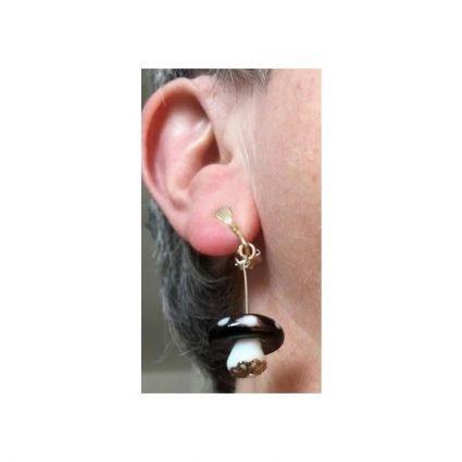 Clips, svarta - på öra