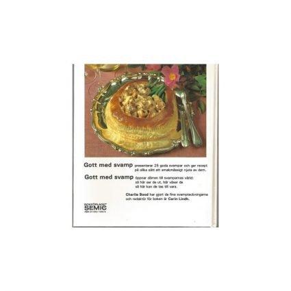 Gott med svamp, omslagets baksida