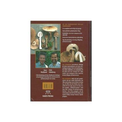 Nya svampboken, första upplagan, omslagets baksida