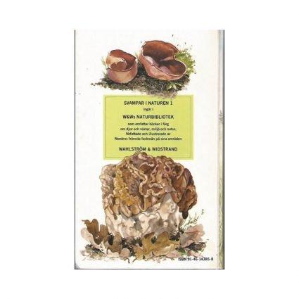 Svampar i naturen, del 1, omslagets baksida
