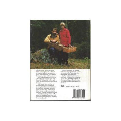 Vår svampbok, omslagets baksida