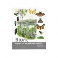 Björk - svart på vitt om myllrande mångfald, omslagets första sida