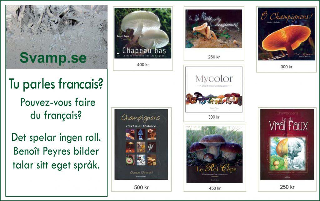 Annons franska böcker