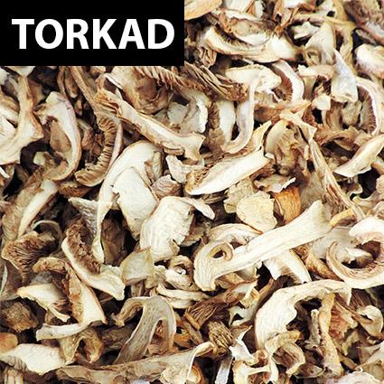 Rimskivling torkad till matlagning. Plockad i Sverige. Livsmedelsgodkänd förpackning.