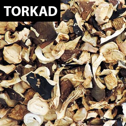 Sillkremlor torkad till matlagning. Plockad i Sverige. Livsmedelsgodkänd förpackning.